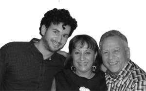 Leno, Nella and Gianni Massimo