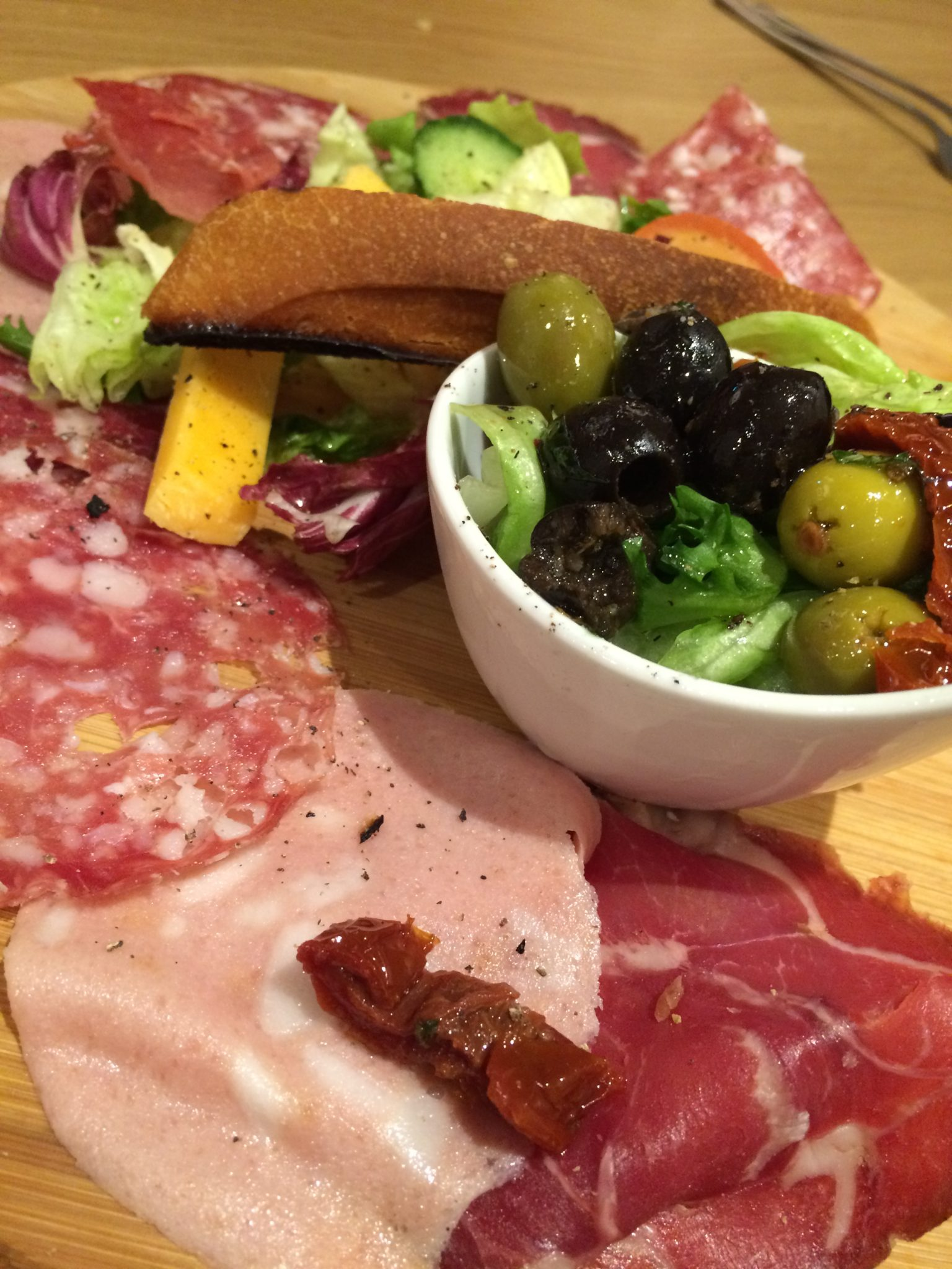 Mamma Mia's Italian classic mixed starter